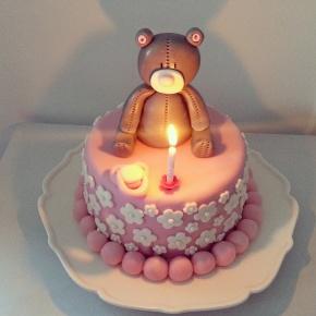 Cake design : gâteau d'anniversaire pourfille